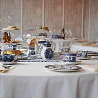 Afternoon tea at the Kings Arms, Swaffham