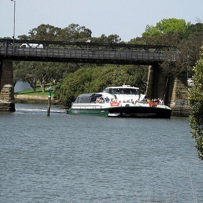 Catch the River Cat from Sydney to Parramatta