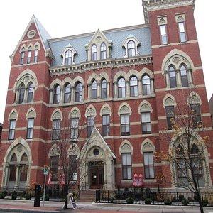 bt. in 1873: High Victorian Gothic