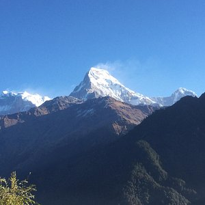 View from Poon Hill trek.
