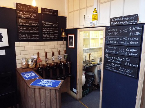 The Bar at Furlongs Ale House