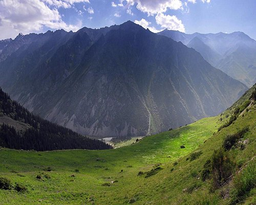 From the right hill of Ak-Say Valley