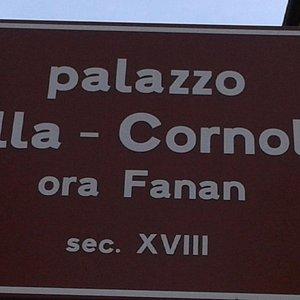 Palazzo Villa-Cornoldi (ora Fanan) sec XVIII