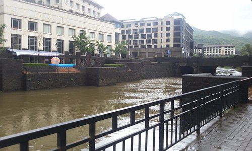 the buildings opposite