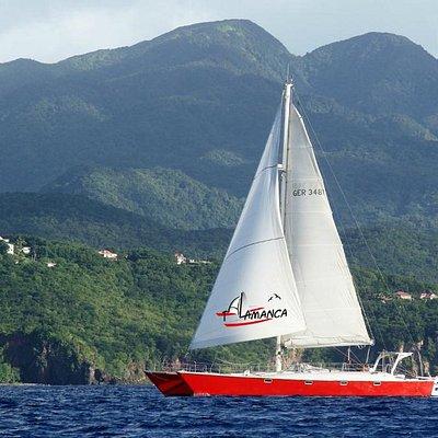 Talamanca le long de la côte sous le vent