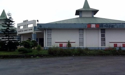 Side View of Science Centre