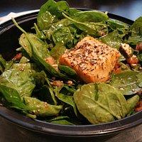 Salmon Salad at Pesto Quick Italian
