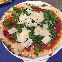 Pizza Carpaccio de boef