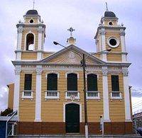 Igreja de São joão em dia nublado