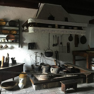 an old kitchen