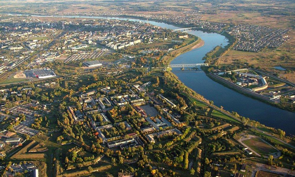 Даугавпилсская крепость с высоты птичьего полёта (фото В. Пузан)
