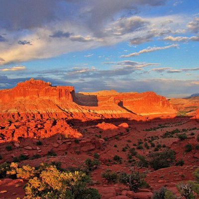 Sunset on Capitol Reef