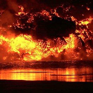 Holuhraun Eruption Sept. 2014. Among Yahoo´s most spectacular photos 2014. Photo: Valdimar Leifs