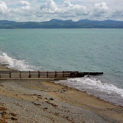 Marine Beach, Criccieth