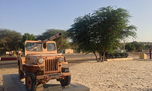 71 era jeep- Longewala war museum