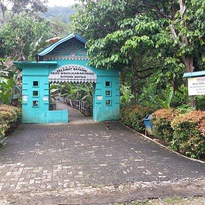 start of the trail in Bintan Bekapur