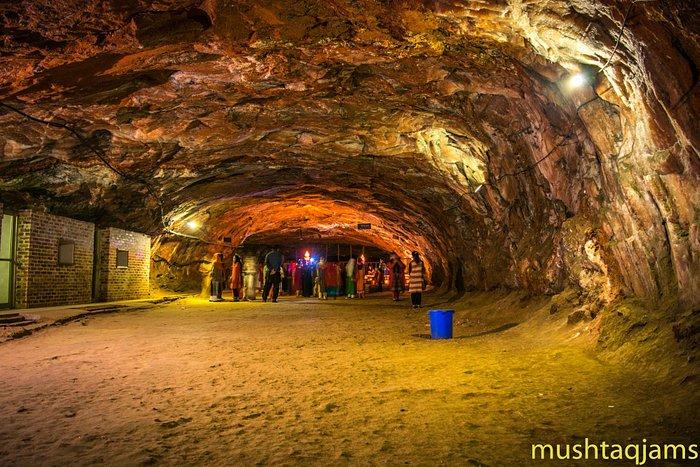 Inside Khewra Salt Mine