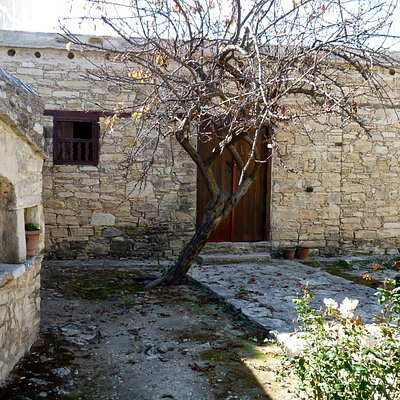 Exterior of Archbishop Makarios's humble birthplace
