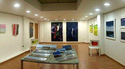 planta superior, obras de Ginés Cervantes y Javier Huecas.