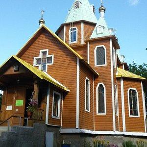 Церковь Преображения Господня в Толмачево
