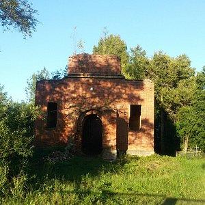 Остатки церкви Сергия Радонежского в Большой Ящере