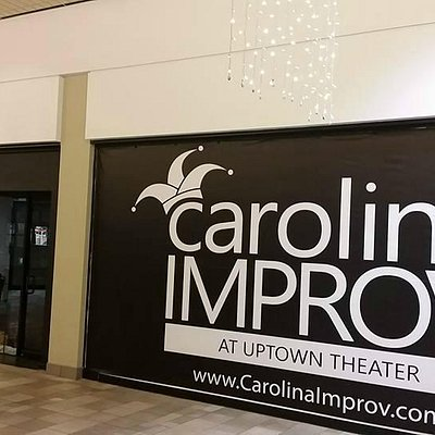 New Carolina Improv sign at Myrtle Beach Mall