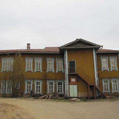 Историко-этнографический музей в с. Усть-Вымь (бывшее здание земской больницы - около 100 лет)