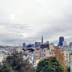 Roof top view from San Francisco Art Institute.