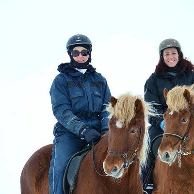Riding is fun in all seasons !