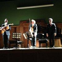 The Linos Trio take a bow