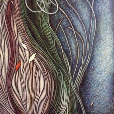 Artwork by Bangladesh artist Quayyum K.M.A.