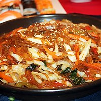 Jap Chae Korean Glass Noodles - definitely a must try!