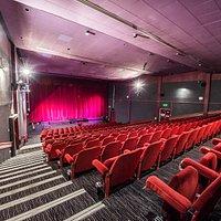 The newly refurbished auditorium
