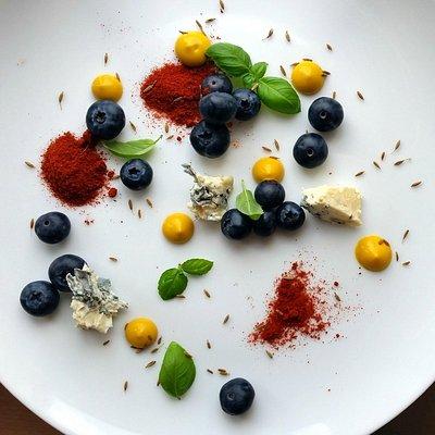 Food Color Art