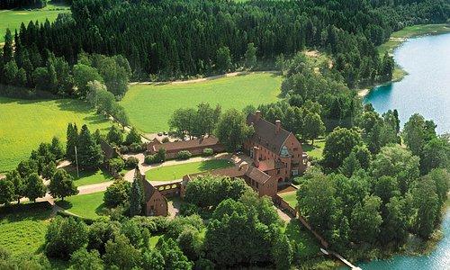 Vanajanlinna - Aerial view