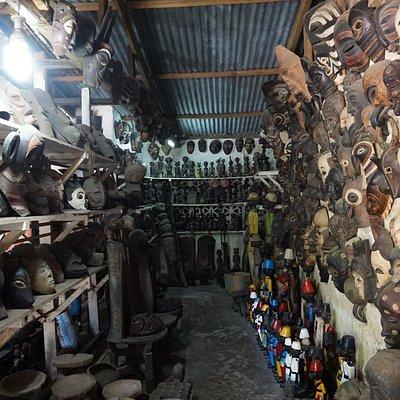7 Mwenge Woodcarvers Market