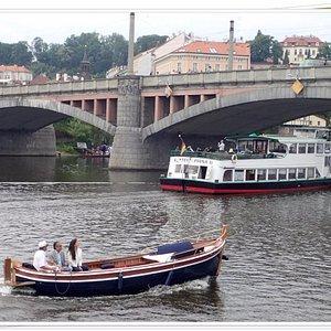 Lodě na Vltavě
