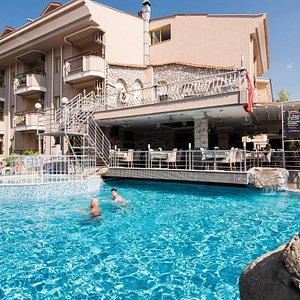 The Pool at the Club Dante Marmaris