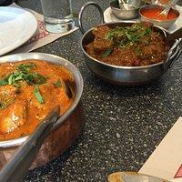 Butter Chicken & Lamb Kadai