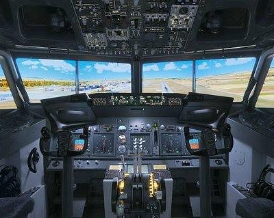 Boeing 737NG Simulator inside
