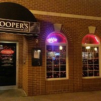 Coopers outside and inside