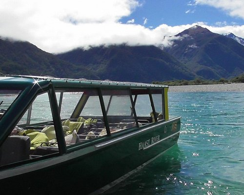 Haast River and Jet Boat