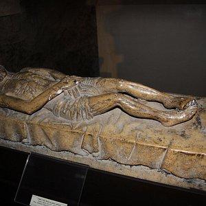 Cristo morto (sec. XV).