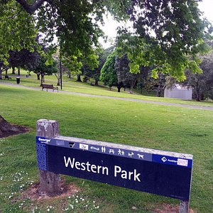 Western Park in Auckland