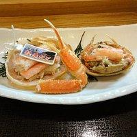 松葉蟹と親蟹