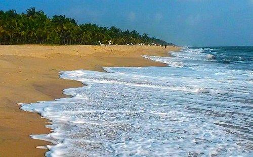 Пляж на Новый Год
