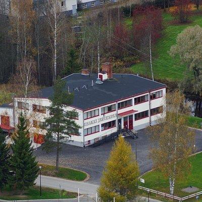 Iisakki Järvenpää knife factory.