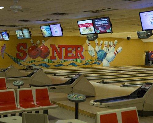 24 lanes at Sooner Bowling Center