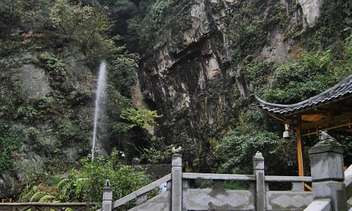 Acceso al Lago Baofeng.