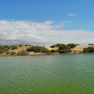 Geschützter Natursee